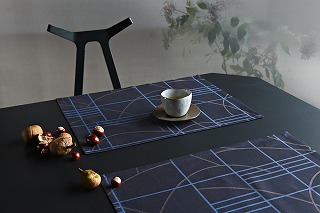 4_FUSUMA_place mat_midnight blue